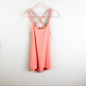 Calia by Carrie Underwood Strappy Open Back Tank